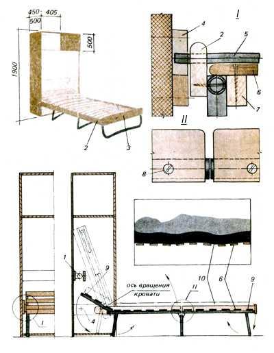 Изготовление. кровать машина своими руками - кровать машина как сделать - детская кровать своими руками...